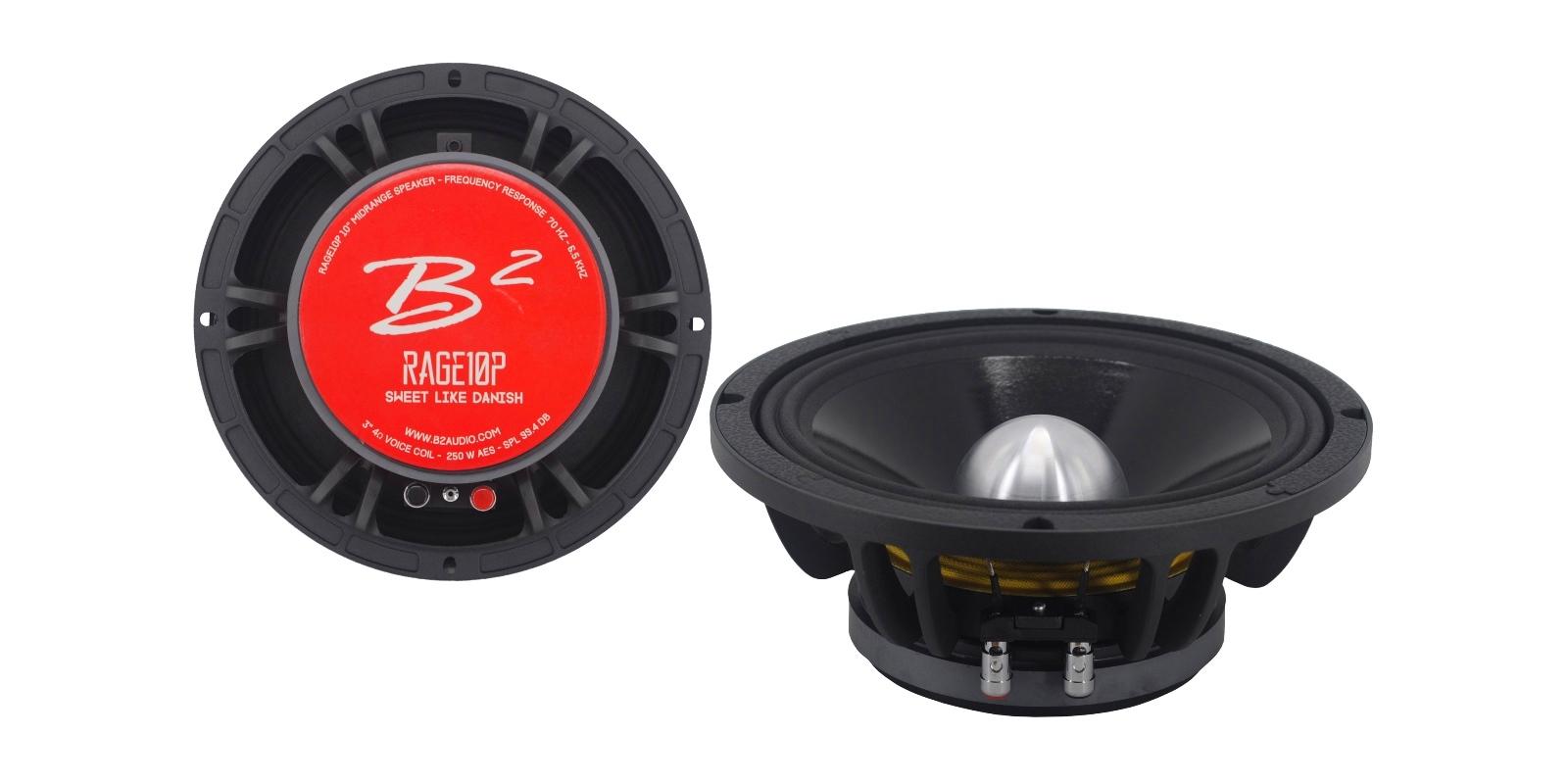 B2 audio RAGE10P