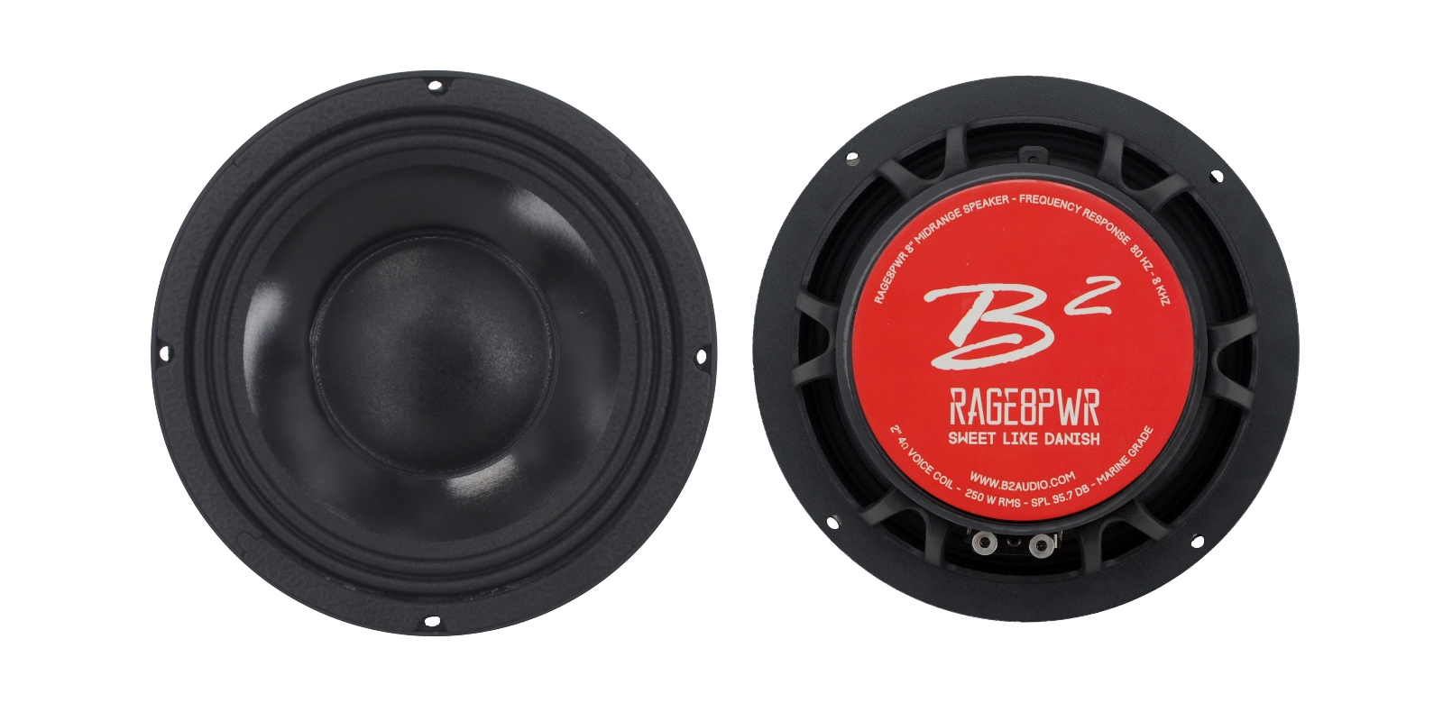 B2 audio RAGE8PWR